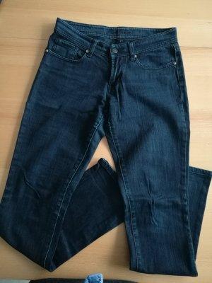 schwarze Fishbone Jeans