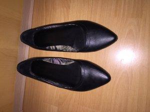 Schwarze Flats - kaum getragen