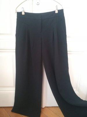Monsoon Pantalon Marlene noir tissu mixte
