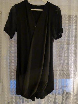 schwarze fließendes Topshop Kleid