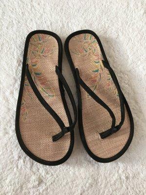 schwarze Flip Flops guter Zustand
