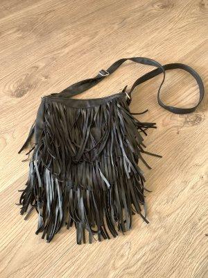Atmosphere Fringed Bag black