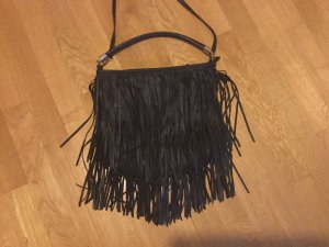Hennes Collection by H&M Bolso de flecos negro