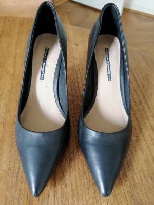 Schwarze French Connection Pumps 39