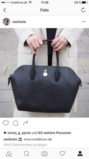 Schwarze Furla Handtasche