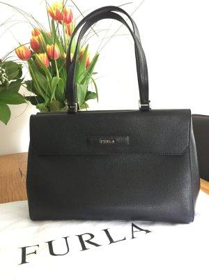 Schwarze Furla Handtasche, neu! Klassiker