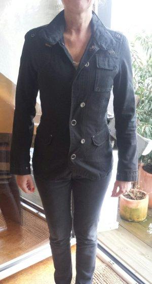 Schwarze G-Star Jacke