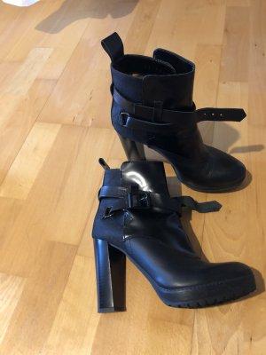 Schwarze G-Star Stiefel