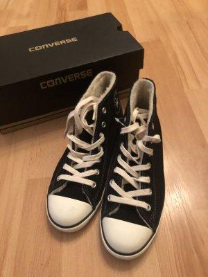 Converse Sneaker stringata nero