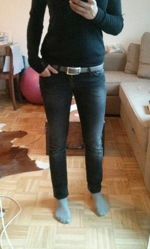 Schwarze gewaschene jeans von Replay