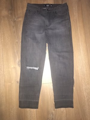 Hollister 7/8 Length Jeans black-grey