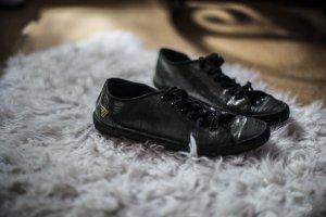 Schwarze Gola-Sneaker
