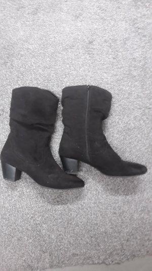 Schwarze Graceland Stiefel