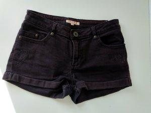 Schwarze Graue  Shorts von Review