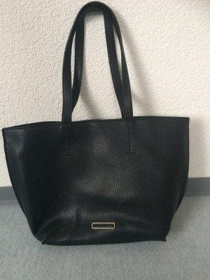 schwarze große Esprit Tasche / Handtasche / Shopper