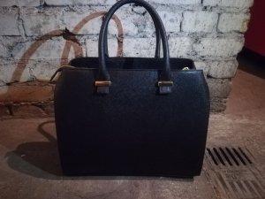 Schwarze große Handtasche