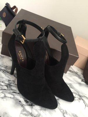 Schwarze Gucci Heels