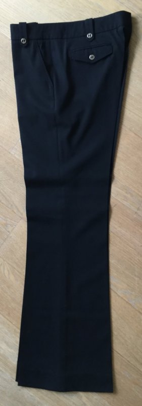 Gucci Marlene Trousers black wool