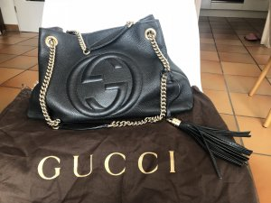 Schwarze Gucci Soho Shoulder Bag