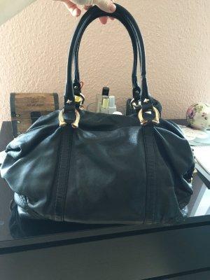 Gucci Sac Baril noir cuir