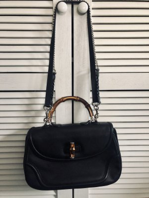 Gucci Bolso barrel negro-marrón claro