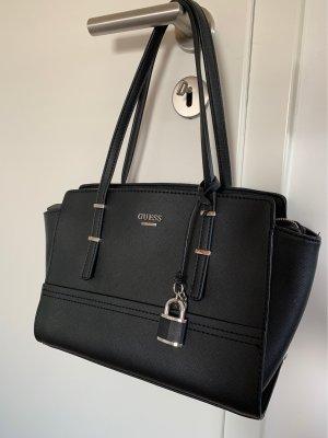 Schwarze GUESS Handtasche