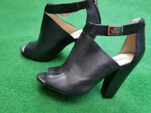 Guess Sandals black leather