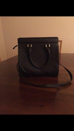 schwarze H&M Blogger Tasche