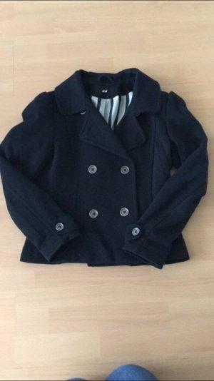 Schwarze H&M Jacke. Gr. 36