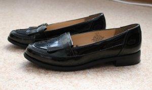 Schwarze H&M Schlüpfschuhe, ein Paar Mal getragen