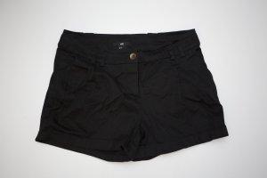 schwarze H&M Shorts / Hot Pants Gr. 34 / XS