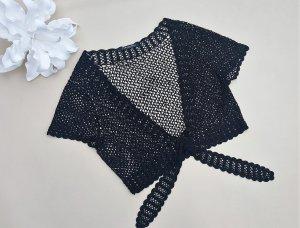 schwarze Hägel Netz Weste von Betty Barclay Gr. 38/40  -neuwertig-