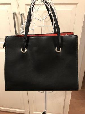 Parfois Carry Bag black-neon orange