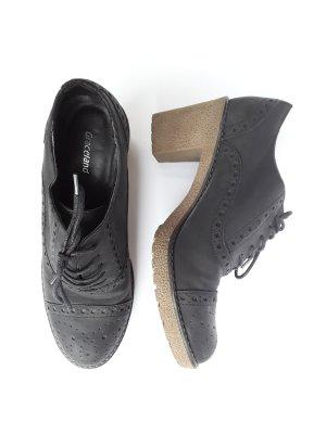Graceland Lace Shoes black-grey brown