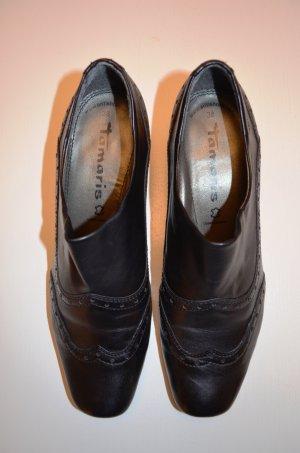 Schwarze Halbschuhe / Business-Schuhe