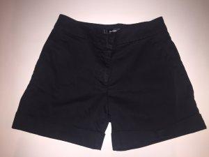 Schwarze Hallhuber Shorts