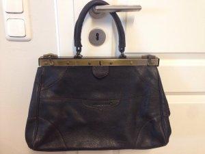 """schwarze Handtasche """" Doktortasche"""" von Karine Arabian"""