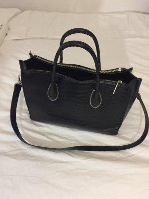 Schwarze Handtasche H&M