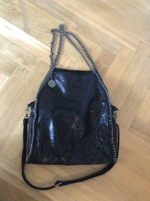 schwarze Handtasche im Stella McCartney Stil