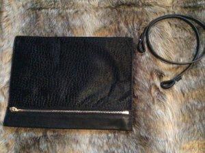 Zara Sac à main noir-doré cuir