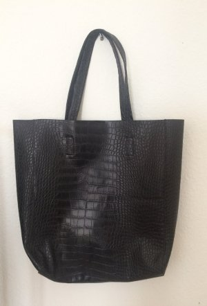 Schwarze Handtasche / Shopper