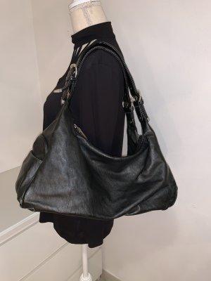 Schwarze Handtasche von David Jones