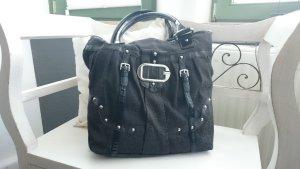 Schwarze Handtasche von Guess
