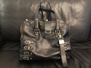 Schwarze Handtasche von Jimmy Choo mit viel Platz