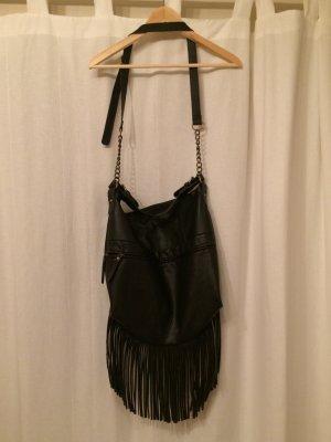 schwarze Handtasche von PIECES