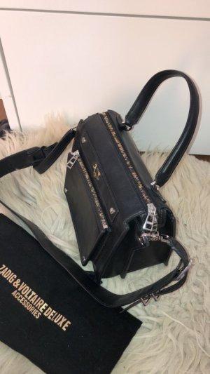 schwarze Handtasche von Zadig & Voltaire