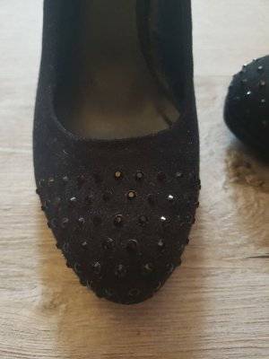 Schwarze Height Heels Gr. 36
