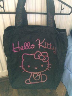 Schwarze Hello Kitty Tasche