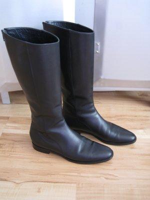 schwarze Helmut Lang Gr.38 Stiefel