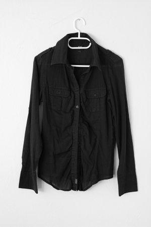 schwarze hemd/bluse von Dept.